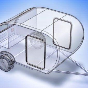 Mini Caravana Rv Globetrotter Prima Con Extras L Alba