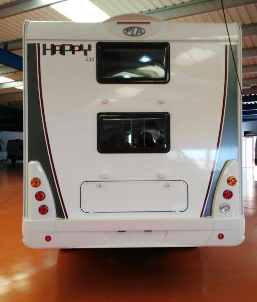 Autocaravana PLA Happy 430 6 plazas maletero 2