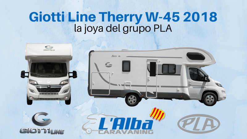 giotti line Therry W45 2018 portada