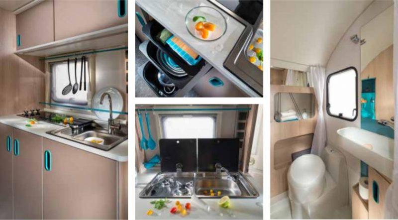 adria aviva cocina y baño